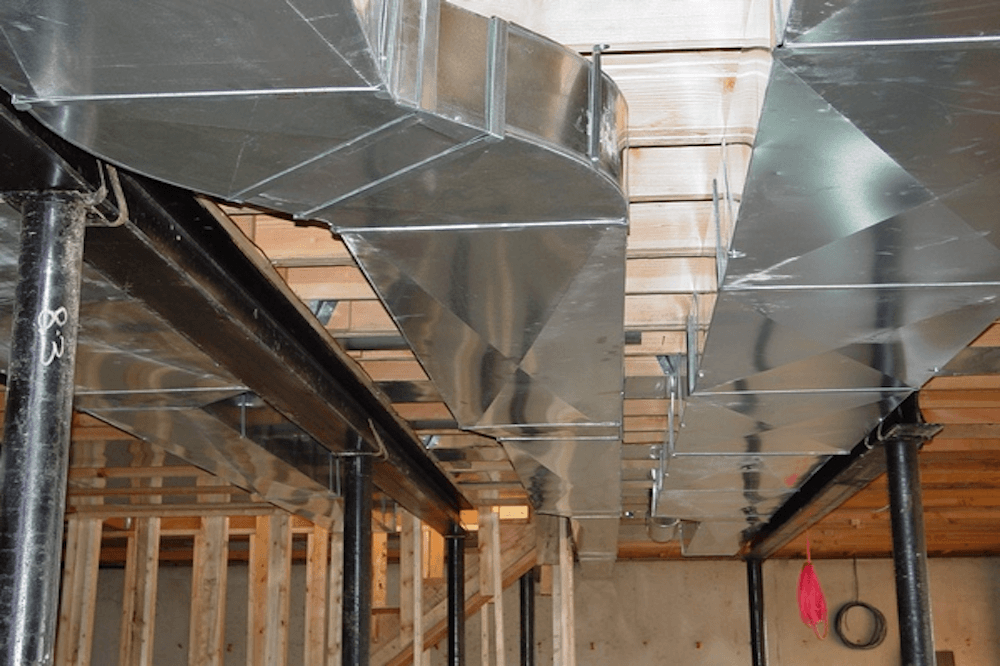 new Ductwork old home